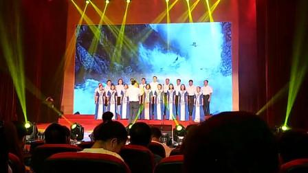 视频录像萱子;科区西门街道'牢记光荣唱响时代旋律'彩虹桥社区表演'祖国颂'
