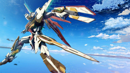 机动战士高达NT:能天使七剑装备首次登场!剑还是要用来扔的