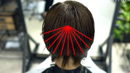超减龄45岁大妈剪完超短发至少年轻十岁!超详细的一款剪发教程!