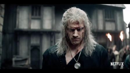 《巫师》真人版电影首放预告,猎魔人在线打牌的日子还会远吗?