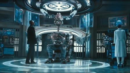 高清战斗天使:杀手一脱离机械躯体,外表就像条虫
