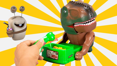霸王龙出没 恐龙亲子互动游戏玩具