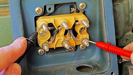 判断电机好坏,哪有那么麻烦?只需测量这2个电阻,2分钟就能判断