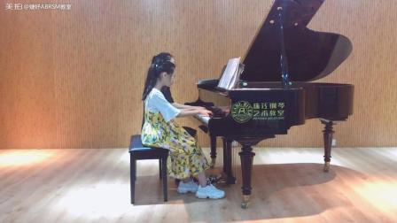 忧伤华尔兹 学生 张瑞琪 多钢琴演出前单独来录一遍