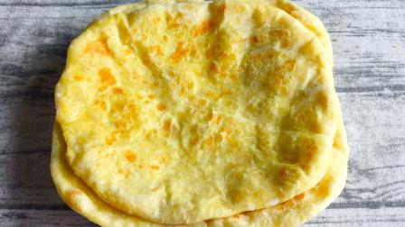 最香家常饼,不加油酥,不用小苏打,简单一烙,柔软多层好吃解馋