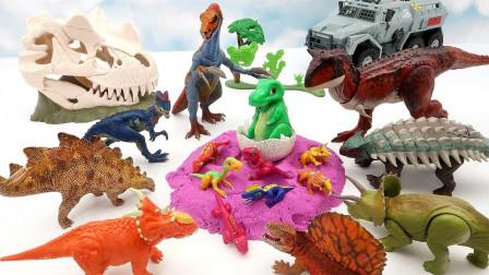 夫妻开卡车运输恐龙蛋 孵化出壳变身大恐龙