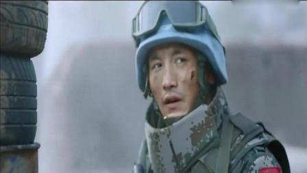 中国军人勇斗非洲恐怖分子,五个人照样不怂,中国军人中国力量!