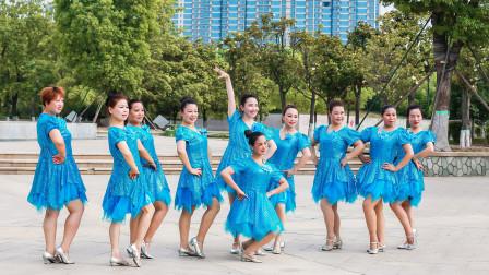 美久广场舞《黄玫瑰》经典老歌原创抒情优雅中三舞蹈附导师教学~经典老歌