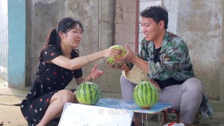 小伙卖西瓜2块钱一斤没人买,30万一个却卖得光光,发生了什么?