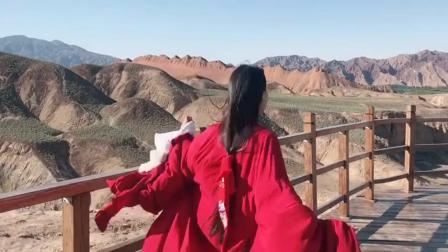 汉服古装: 一袭红衣, 愿我们可以不期而遇!
