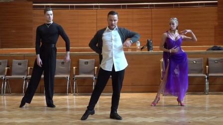 2019 THE CAMP(12)德国拉丁舞讲习 Nikita Bazev