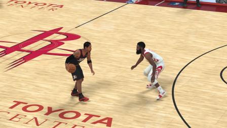 【最高难度】艾弗森 VS 哈登 NBA2K19 街头篮球单挑