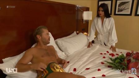 最搞笑摔角 二柱子带着裁判跑到冠军住的宾馆 就要打比赛!