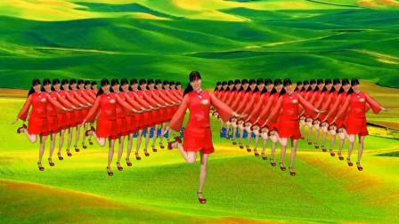 红儿最新草地上的兔子舞简单1个动作就能瘦全身坚持就是胜利有教学