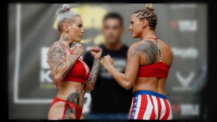 超精彩MMA女子格斗 打出了技术与力量的结合!