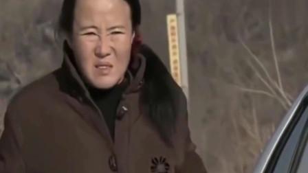 乡爱:刘能忘拉手刹,他媳妇刚下车,车就溜进沟里报废了