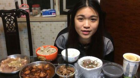 炜琳--自制广式叉烧 ,萝卜牛杂,芝麻糊,猪血汤--大胃王吃货-国内吃播--中国吃播美食--