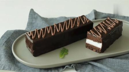 巧克力蛋糕棒 巧香浓郁 奶油香甜  可口小甜品get