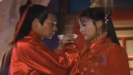 八仙全传:韩湘子艳彩大婚,美得不可方物,只是可惜了艳彩!