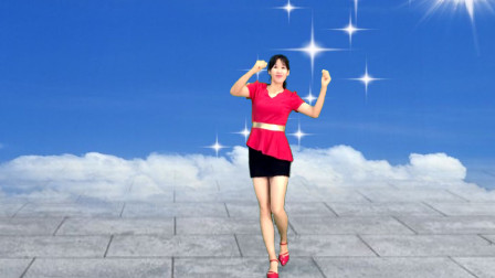 阿采原创广场舞 一步一步教您跳网红舞《阳光路上花正开》火爆小视频