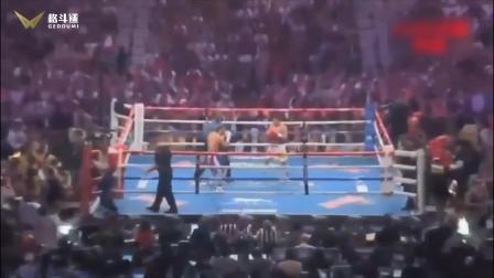 帕奎奥拳击比赛视频 40岁超级拳王帕奎奥与美国不败拳王对决 第五回合比赛