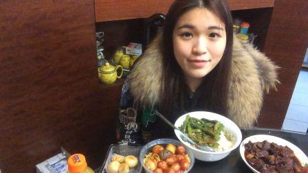 炜琳-酱酱酱薯条 车仔面 麻薯 叉烧-吃播-美食-吃货-中国