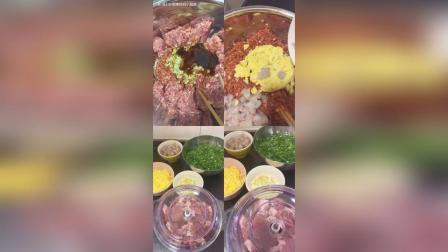 头伏饺子二伏面 棒妈今天晚餐包了虾仁韭菜饺子