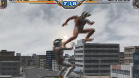 奥特曼格斗进化3:泰罗奥特曼这个姿势好有趣啊!