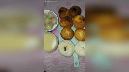 拔丝蛋糕蜂蜜蛋糕素包荔枝