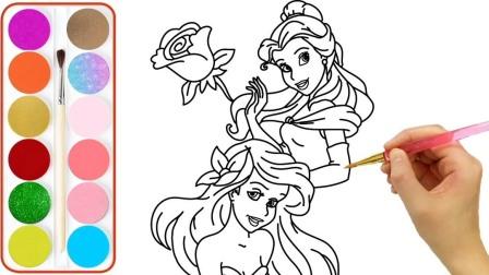 迪士尼手工剪纸:太奇妙!芭比公主设计可爱的糖果蛋糕裙!