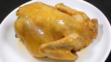 盐焗鸡的懒人做法,一个电饭锅搞定,做出来色泽金黄,肉嫩鲜香