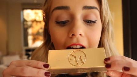 最贵的巧克力,一块价值1000元,土豪完全无视!