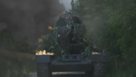 机枪对战坦克,狭路相逢勇者胜
