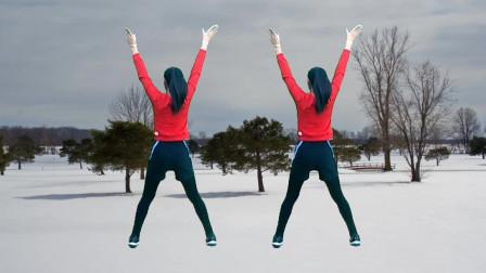 强力动感减肥健身操《你是我心中永远的痛》动作简单正反跳