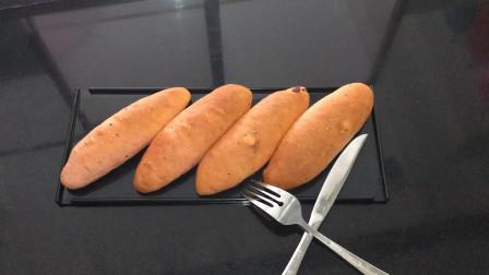 面包师二次做火龙果软欧,这次的更加筋道,看面包师加了什么