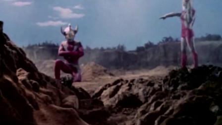 光太郎被怪兽压不能变身,亲妈疼儿奥特之母前来救助