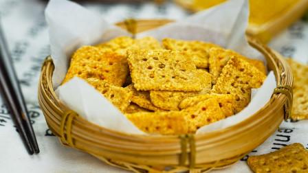 金黄酥脆小米锅巴,非油炸吃到你停不下来。