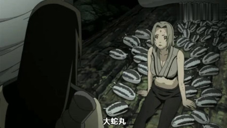 纲手:蛇妹你要是早变回来,自来也就不会死,大蛇丸:不一定