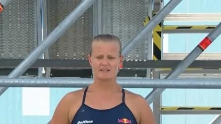 女子高台跳水决赛-澳大利亚选手蕾哈娜