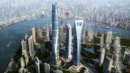 看看上海陆家嘴高楼大厦