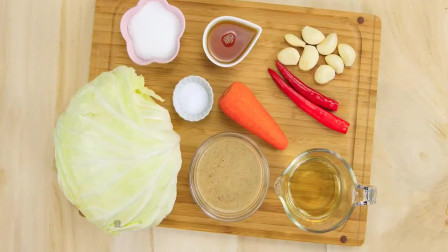 泡菜经过一天置熟成就可以享用啰喜欢吃泡菜的朋友们也可以试试黄金泡菜的口味