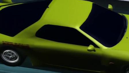 头文字D:拓海AE86第一次登场,惯性漂移!