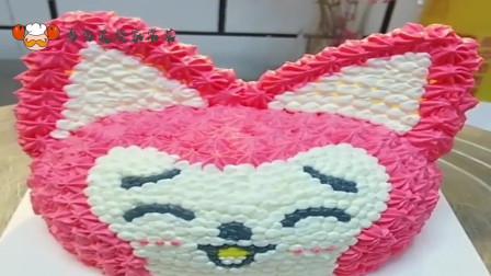 网红生日蛋糕这样做,成品太可爱,太精致了!