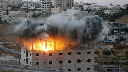 现场!以色列军警强拆巴基斯坦人房屋 巴方强烈抗议