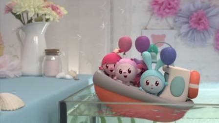 瑞奇宝宝:宝宝们需要穿过大海,跳跳用小船来接他们了!