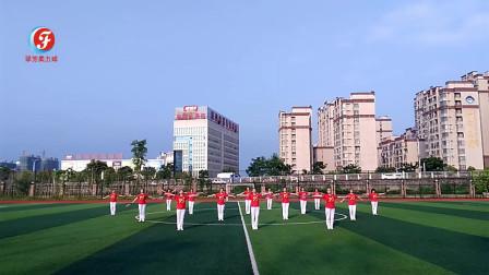 19集体展示第六套柔力球双拍双球广场套路《今天是你的生日我的中国》江西省樟树市柔力球双拍队