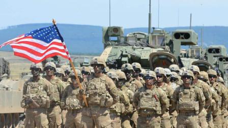 谁说美不敢打伊朗,连环计骗过世界,大量美军已将伊朗团团围住