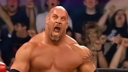 wwe大秀哥 WWE高柏对战大秀哥 神仙打架 让所有的裁判紧张不已