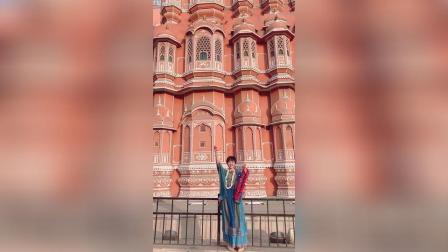 印度拉贾斯坦邦 粉色之城 Jaipur风之宫殿