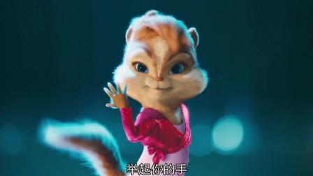 """鼠来宝2:大卫·克洛斯开始洋洋得意,看到女""""花栗鼠""""的表演赶紧代言,恨不得飞起来!"""